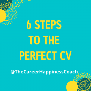 6 steps to the perfect cv